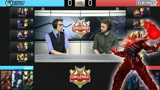MSF vs EURONICS, game 1