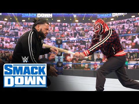 Roman Reigns brawls with Rey & Dominik Mysterio: SmackDown, June 11, 2021