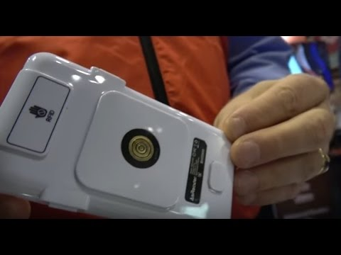 RAIN RFID Reader for your iPhone shown at IDTechEx Show! USA 2016