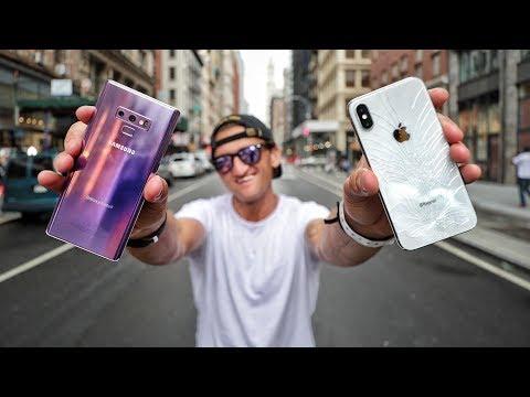 Video Galaxy Note 9 VS iPhone X - ULTIMATE VIDEO CAMERA COMPARISON download in MP3, 3GP, MP4, WEBM, AVI, FLV January 2017