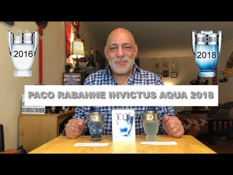 NEW Paco Rabanne Invictus Aqua 2018 with 6 Reviewers Including Jeremy Fragrance + GIVEAWAY (CLOSED)