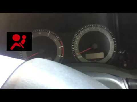 How To Reset An Airbag Light! Toyota ALL Models!