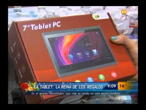 Video Las Noticias - La tablet, reina de los regalos para esta Navidad download in MP3, 3GP, MP4, WEBM, AVI, FLV January 2017