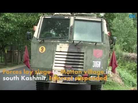 Forces lay siege to Mattan village in south Kashmir, Internet suspended