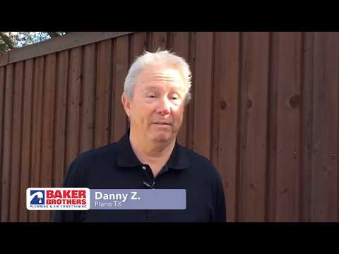 Baker Brothers Plumbing Review – Danny Z. – Plano, TX