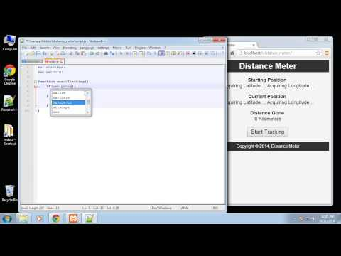Projects in HTML5 – Chapter 62 – Get User Location
