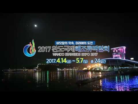 2017완도국제해조류박람회 홍보 캠페인 2차