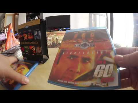 Unboxing Jerry Bruckheimer Collection Bluray