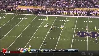 Devin Funchess vs Notre Dame (2014)