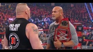 Nonton Brock Lesnar F5ed  Goldberg    WWE Raw 6 March 2017 Full Show   WWE Raw 3 6 2017 full show Film Subtitle Indonesia Streaming Movie Download