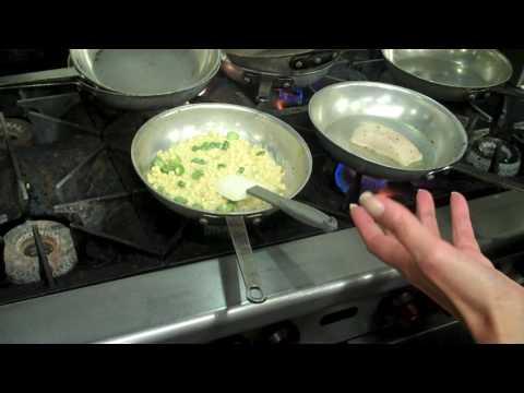 Cube restaurant, chef Erin Eastland -- Sophie Gayot of GAYOT.com