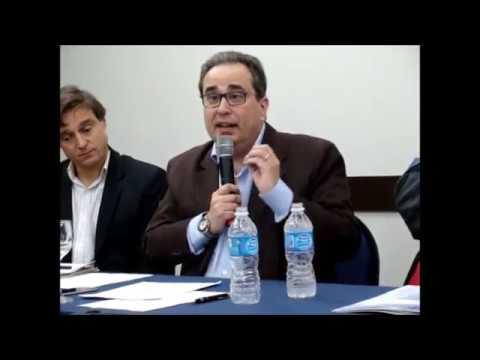 Sócio Nilo Beiro fala em evento da CNTSS/CUT - maio de 2017