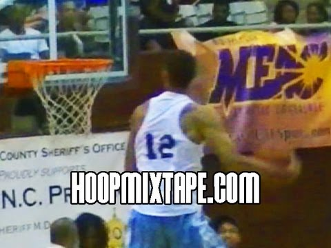JP Tokoto Dunk Contest - JP Tokoto Showing the bounce in his NC Pro-am Debut!