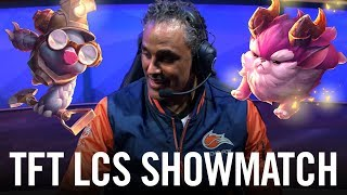 Teamfight Tactics LCS Show Match (ft. Rick Fox, Contractz, Kobe and more) by League of Legends Esports