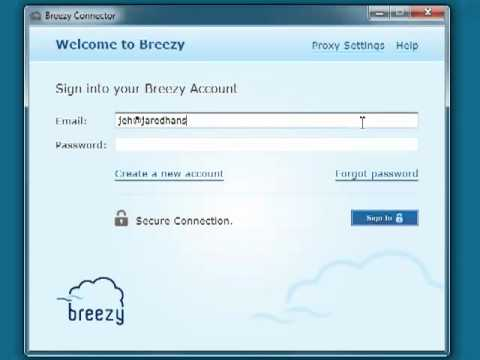 Video of Breezy For Good Technology