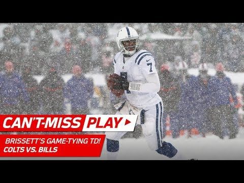Video: Jacoby Brissett Leads Game-Tying TD Drive in Winter Wonderland! | Can't-Miss Play | NFL Wk 14