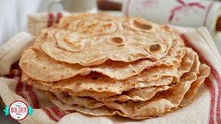 Homemade Whole Wheat Tortillas by Gemma's Bigger Bolder Baking