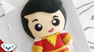 Shazam Kawaii Cake | Superhero Cake Art | Koalipops