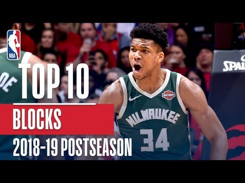 Top 10 Blocks Of The 2019 NBA Playoffs | Exxon Mobil1