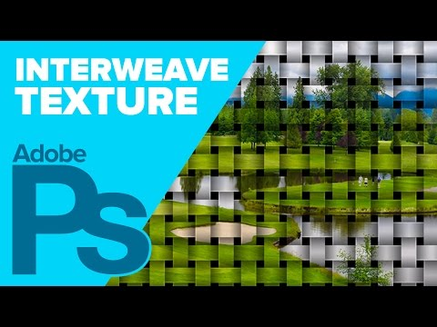 Create a Interwoven Textured Image in Photoshop CS6
