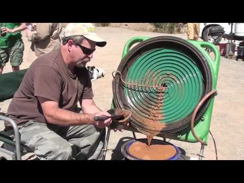 Keene's New Gold Concentrating Wheel 25