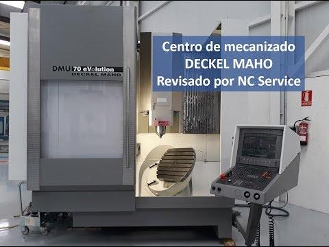 Centro de mecanizado vertical CNC DECKEL MAHO DMU 70 eVolution (15035703424) 2001