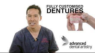 Standard vs ADC Customised Dentures