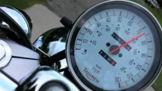 7. Triumph Speedmaster Wonky Speedometer