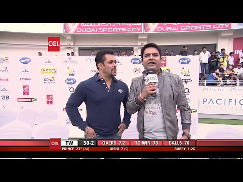 SALMAN - All updates visit us at http://www.ccl.in/ Live Streaming : http://www.youtube.com/ccl Live Updates : https://www.facebook.com/CCL Live Tweets : https://twit...