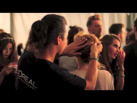 Backstages coiffure du Plus Grand Défilé de Mode du Monde par L'Oréal Professionnel