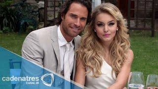 Sebastián Rulli asegura que la relación entre su hijo y Angelique Boyer es muy buena y conviven como una famila 24 de abril...
