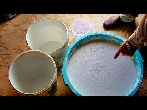 Lavadoras - jabon liquido casero de aceite de oliva usado y sosa para la lavadora.