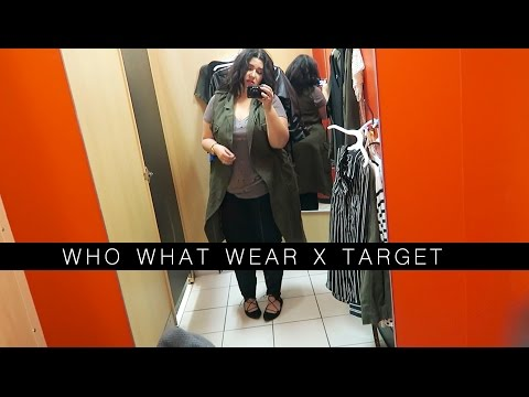 Plus Size Fashion - Inside The Dressing Room WHO WHAT WEAR x TARGET