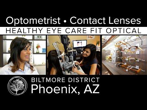 Optometrist Phoenix AZ - Healthy Eye Care Fit Optical - Contact Lenses