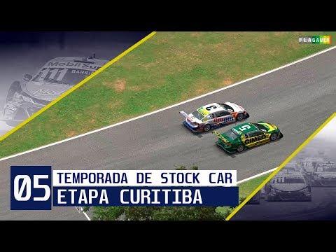 05 - Etapa de Curitiba - PASSEI METADE DO GRID NA LARGADA 😎 | Temporada do Flagamer na Stock Car