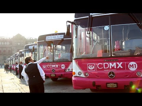 La Ciudad de México, una urbe segura para las mujeres