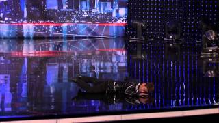 Kenichi Ebina Performs An Epic Matrix  Style Martial Arts Dance   America's Got Talent
