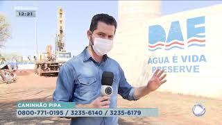 Problema na bomba do poço do Gasparini deixa moradores sem água em Bauru
