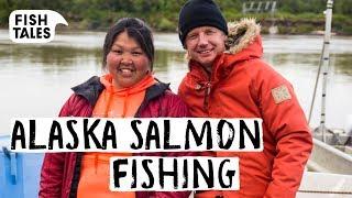 Fishing WILD ALASKA SALMON on the Yukon River by Bart's Fish Tales