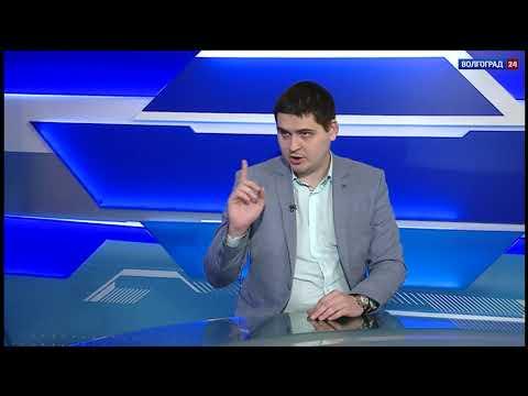 Олег Егорушин, председатель молодежного парламента Волгоградской области