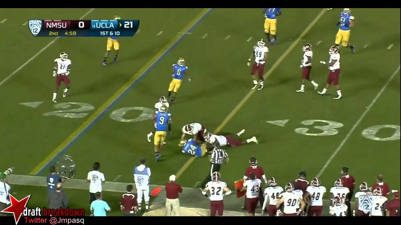 Brett Hundley vs New Mexico State (2013)