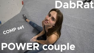 Couples that climb together STAY together || COMP SET by Bouldering Bobat