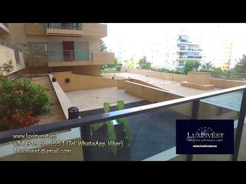 Элитные апартаменты с одной спальней в Бенидорме, в бухте Ла Кала, 400м до моря,