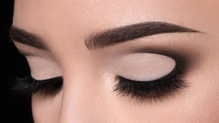 Half Moon Shaped Smokey Eye Makeup Tutorial - YouTube