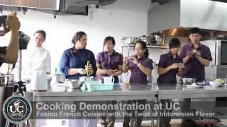 Universitas Ciputra – Chef Sandra Djohan