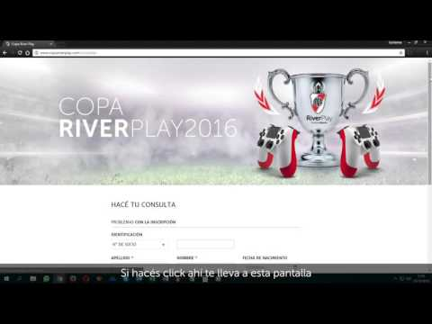 Tutorial Copa River Play