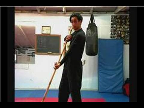 Martial Art Bo Staff Techniques : Bo Staff Techniques: Blocking