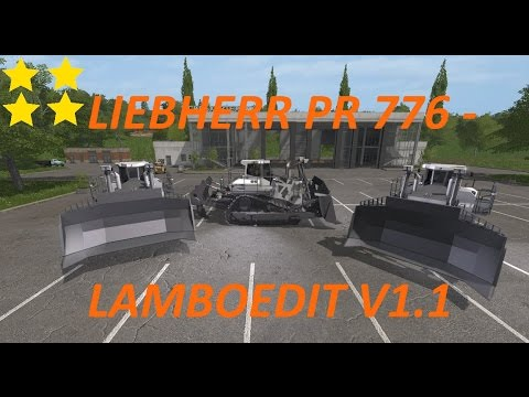 LIEBHERR PR 776 - LAMBOEDIT v1.1