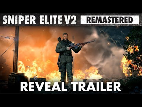 Sniper Elite V2 Remastered представлена официально, Rebellion работает над продолжением Sniper Elite 4