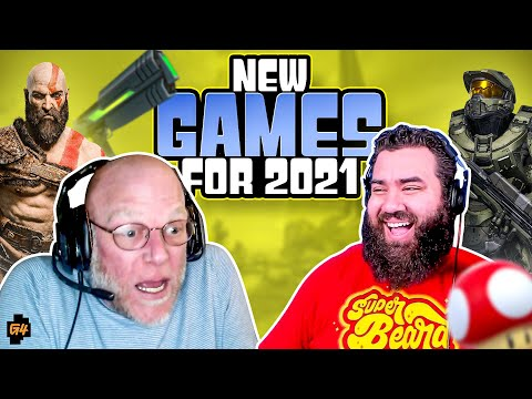 NEW GAMES for 2021 with The Completionist and Adam Sessler